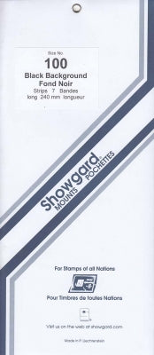 Showgard Stamp Mount 100 240x100 Black