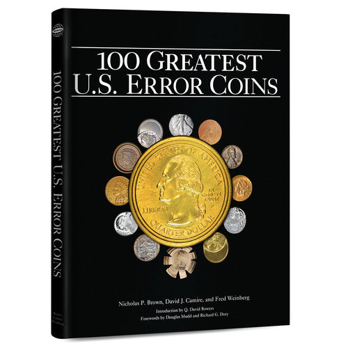 100 Greatest U.S. Error Coins Whitman Book