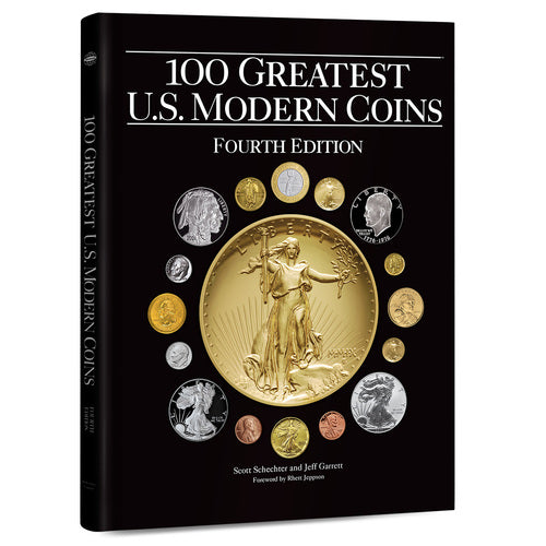100 Greatest U.S. Modern Coins, 4th Edition Whitman Book