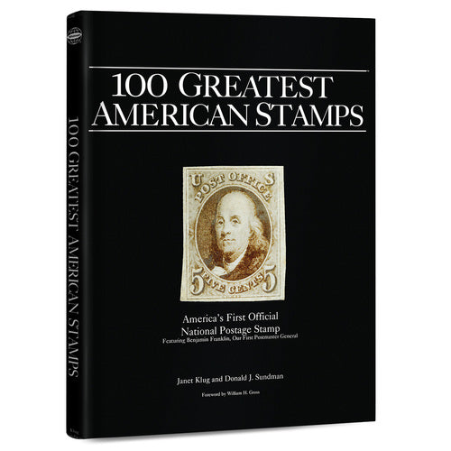 100 Greatest American Stamps Whitman Book