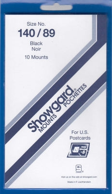 Showgard Stamp Mount 140/89 Black