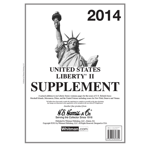 Liberty II 2014 Harris Supplements