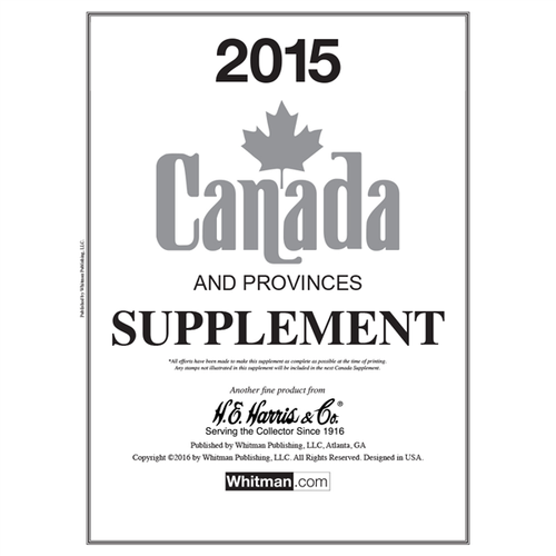 Canada 2015 Harris Supplements
