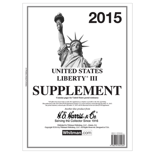 Liberty III 2015 Harris Supplements