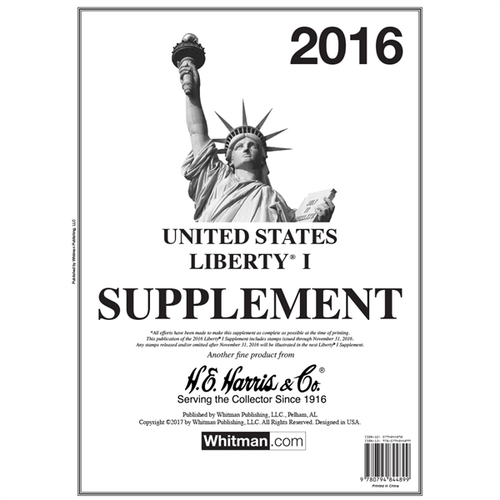 Liberty I 2016 Harris Supplements