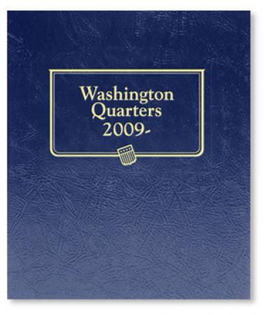 2642 - Statehood Quarters, 2009 Album P&D & San Francisco Mints Whitman Album