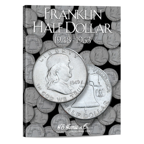 2695 Franklin Half Dollars Harris