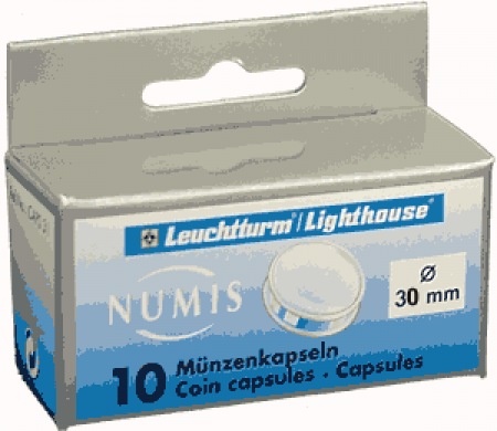 30mm - Lighthouse Coin Capsules