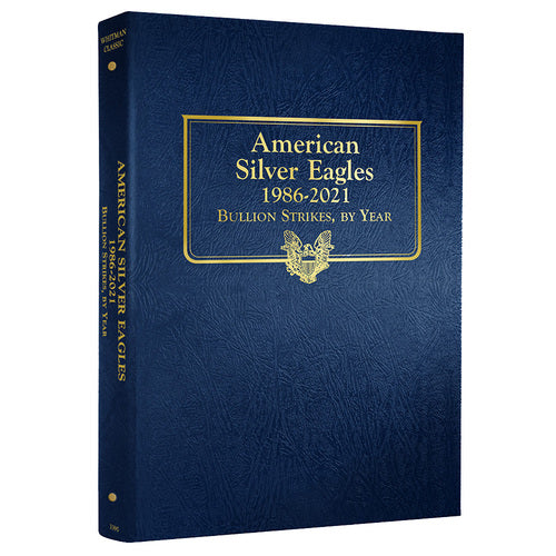 3395 - American Silver Eagles, 1986-2021 Whitman Album