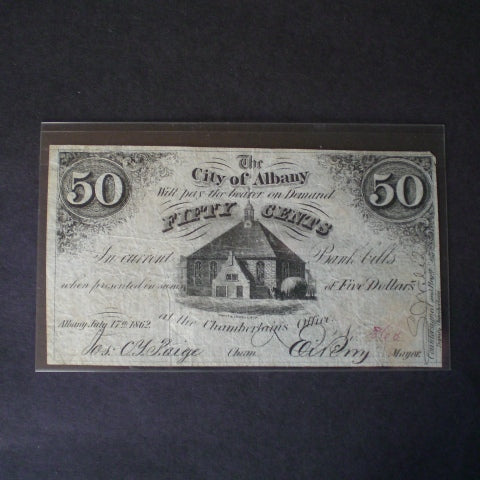 MG430 Fractional & Colonial - Archival Wraparound Qty 10 MG Holders