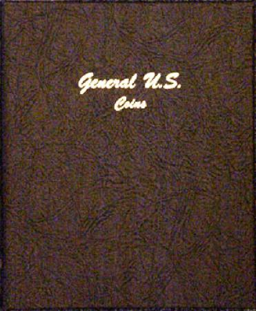 7080 General U.S. Coins Dansco Album