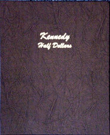 7166 Kennedy Half Dollars Dansco Album