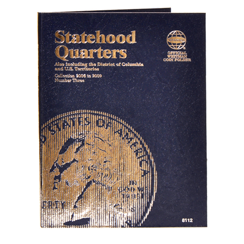 8112 State Series Quarters #3 Whitman Folder