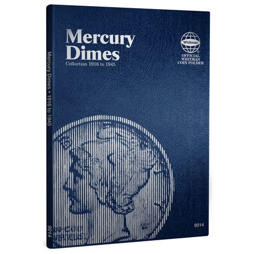 9014 Mercury Dimes Whitman Folder