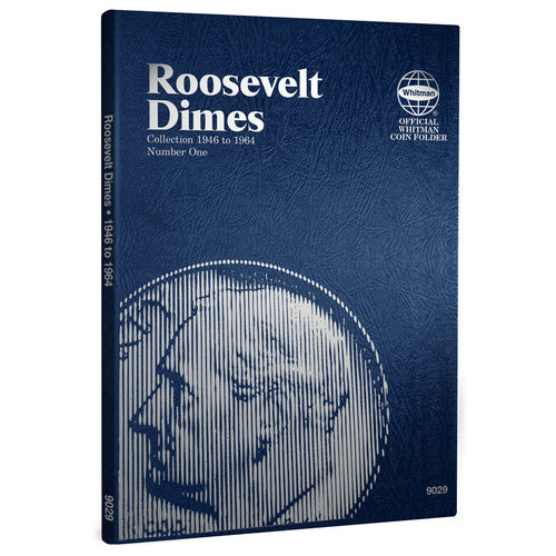 9029 Roosevelt Dimes #1 Whitman Folder