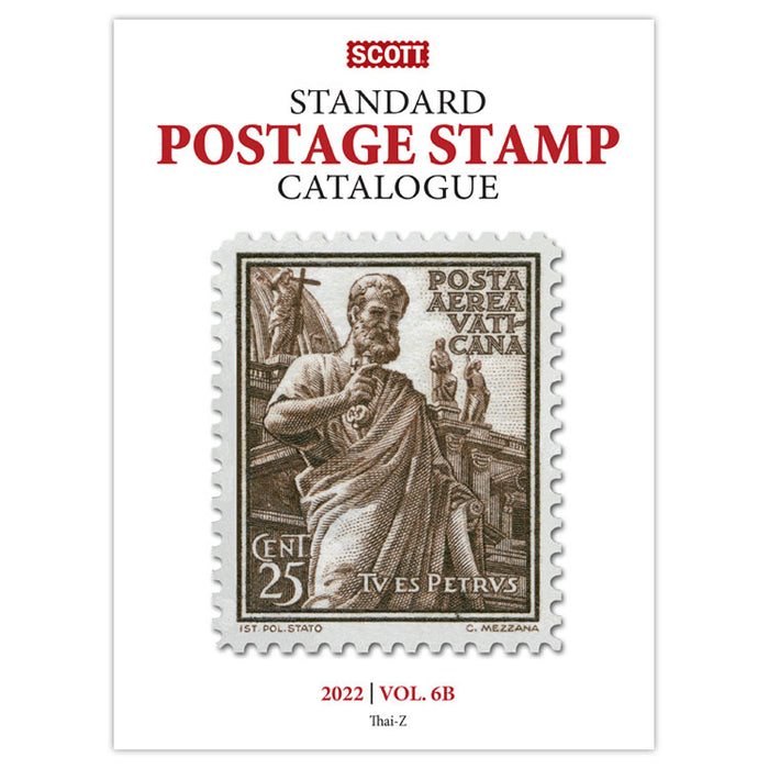 PRE-ORDER* 2022 Scott Stamp Catalogue Volumes 6A & 6B - (Countries SAN-Z)