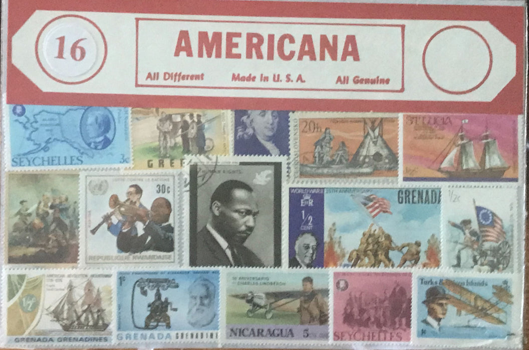 Americana Stamp Packet