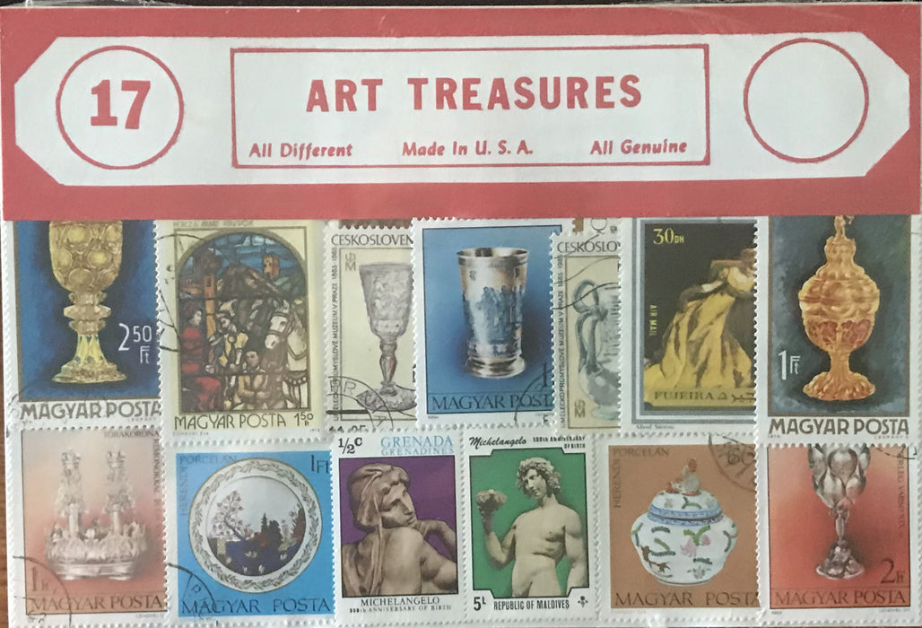 Art Stamp Packet