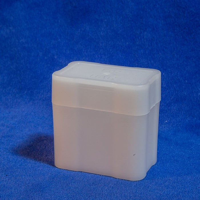 Silver Bar Square Coin Tubes(Quantity 100)