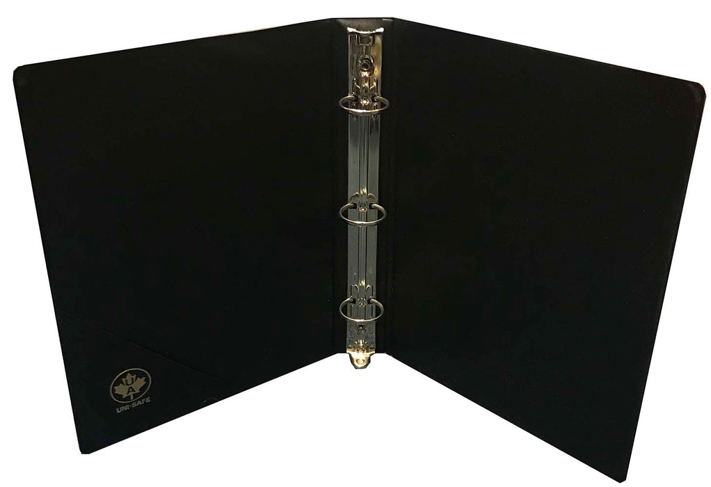 "6""x9"" 3 Ring Binder #1, #2, and #4 Sales Sheets Black"