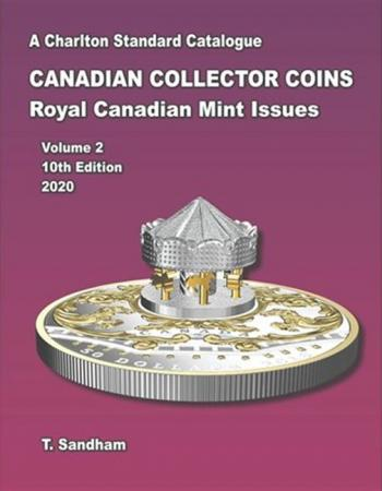 Charlton 10th Edition Standard Cat. Of Canadian Collectors Coin - Royal Mint Charlton Book