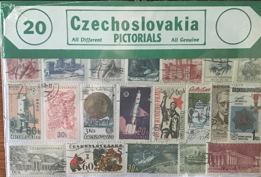 Czechoslovakia Stamp Packet