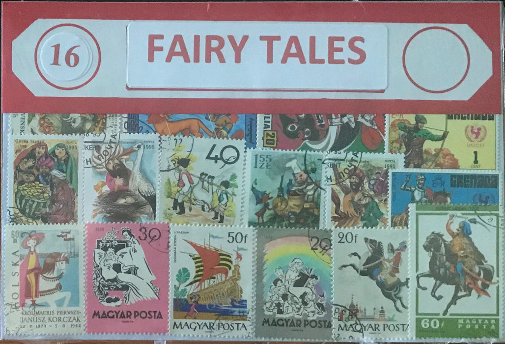 Fairy Tales Stamp Packet