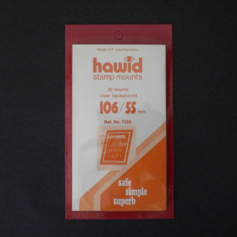Hawid Stamp Mount H106 x 55C Clear