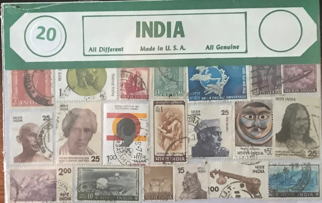 India Stamp Packet