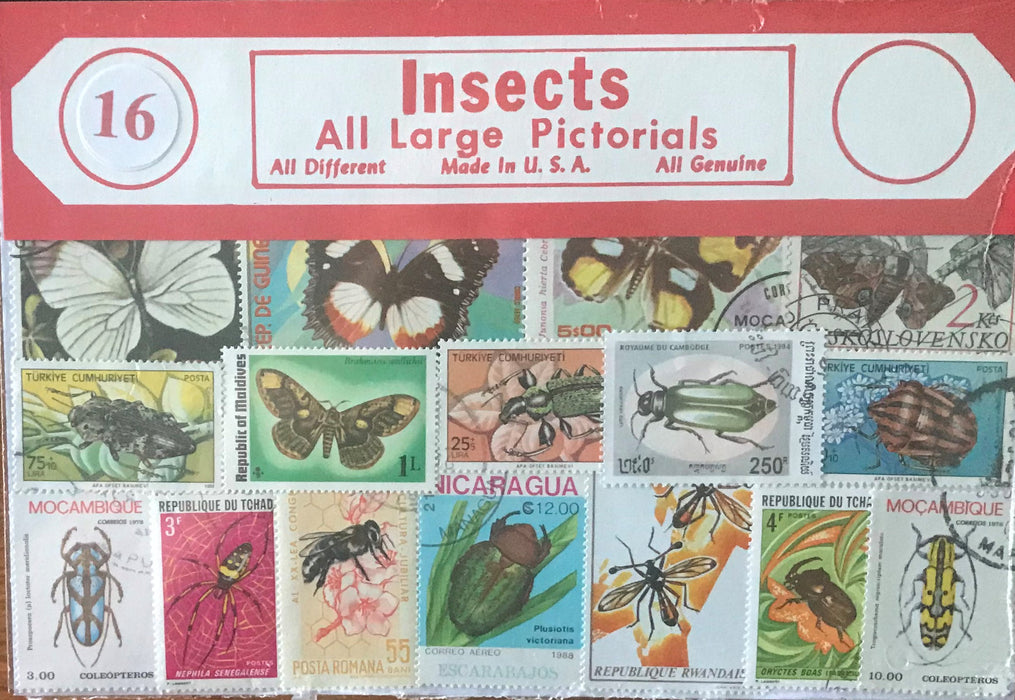 Insect Stamp Packet