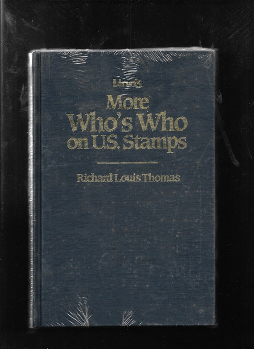 Linn's More Who's Who on U.S. Stamps Richard Lewis Thomas