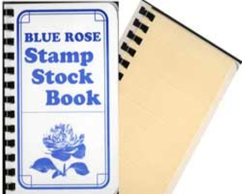 Blue Rose Pocket Size Stock Book