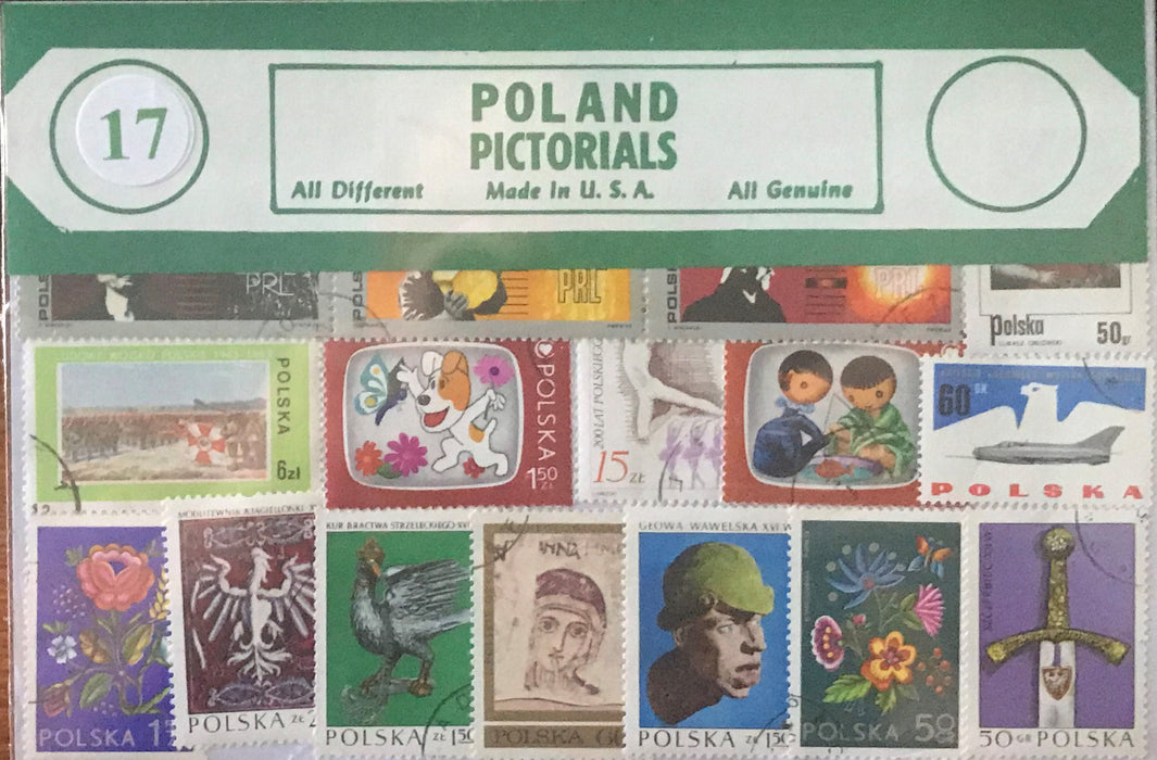 Poland Stamp Packet