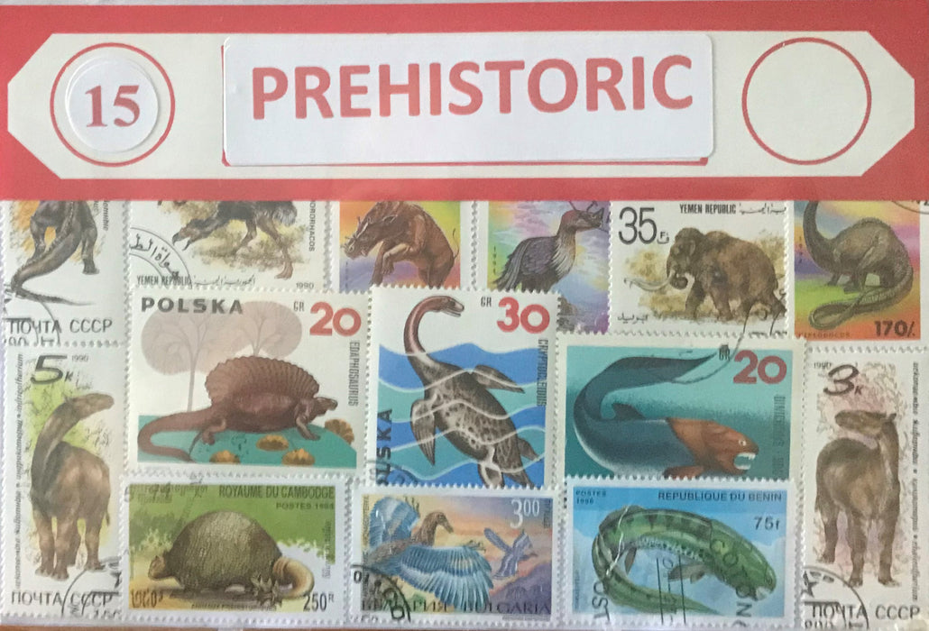 Prehistoric Stamp Packet
