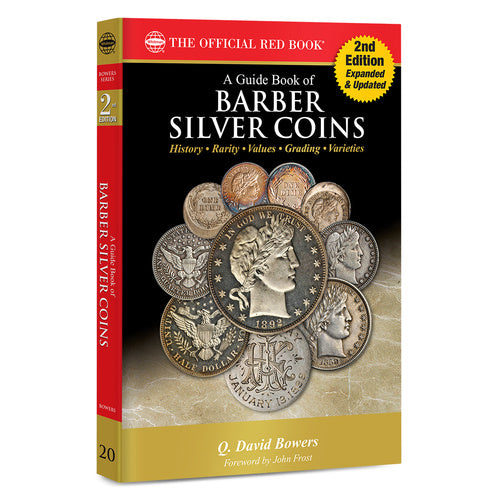 A Guide Book of Barber Silver Coins 2nd Edition Whitman Book