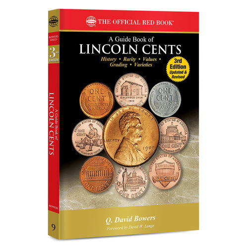 A Guide Book of Lincoln Cents, 3rd Edition Whitman Book