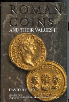 Roman Coins & Values 2 Book