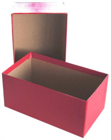 Med. Currency Holder Red Misc. Storage Box