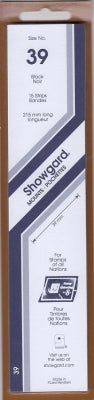 Showgard Stamp Mount 39 215x39 Black