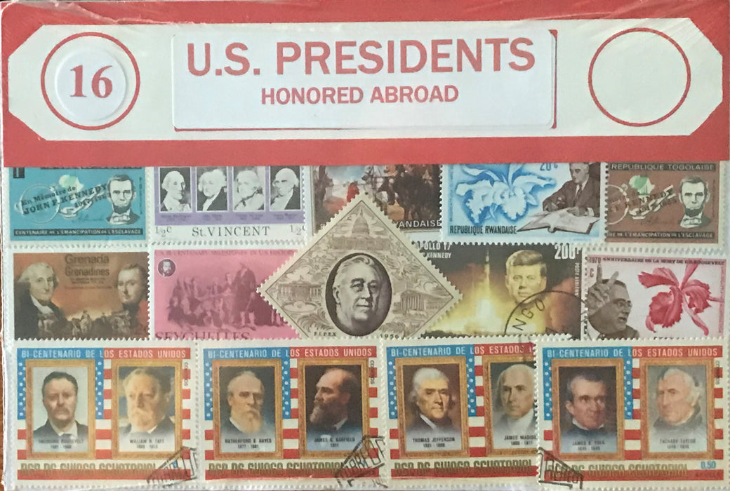 U.S. Presidents Stamp Packet