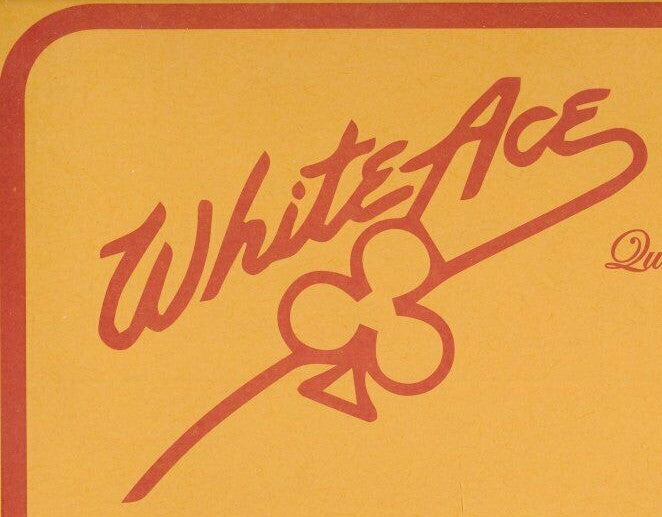 Regular Issue Blank Pages White Ace