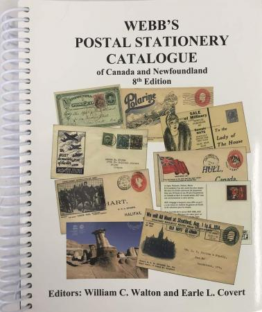 Postal Stationary Catalog of Canada & Newfoundland Webb