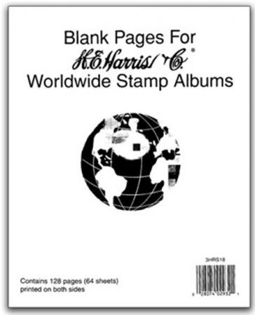 Worldwide Blank Pages Harris Supplements