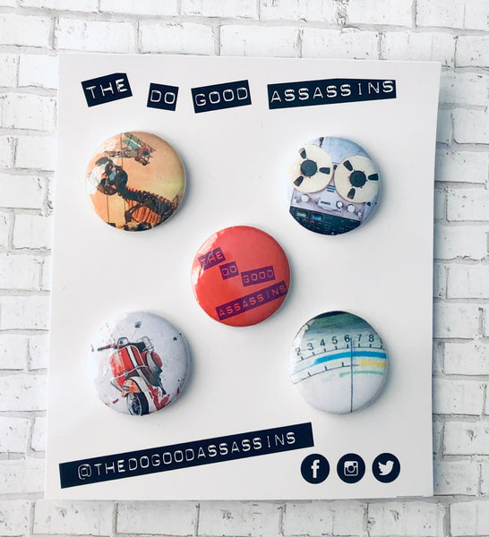 Do Good Assassins Limited Edition Pin Set #1