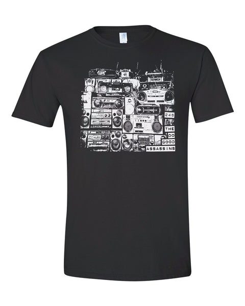 The Do Good Assassins Boombox 246 Men's Black T-Shirt