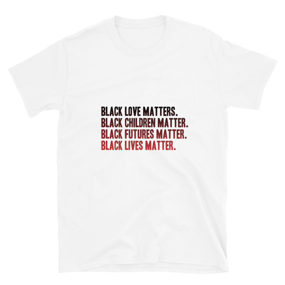 Black Futures Short-Sleeve Unisex T-Shirt
