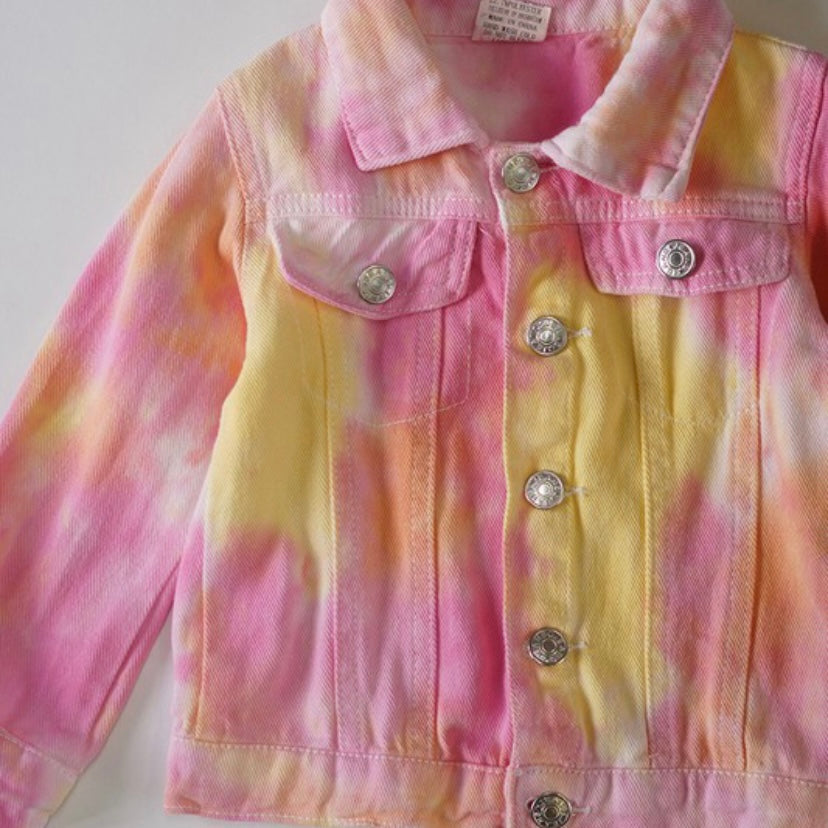 Little's Pink Tie Dye Jacket