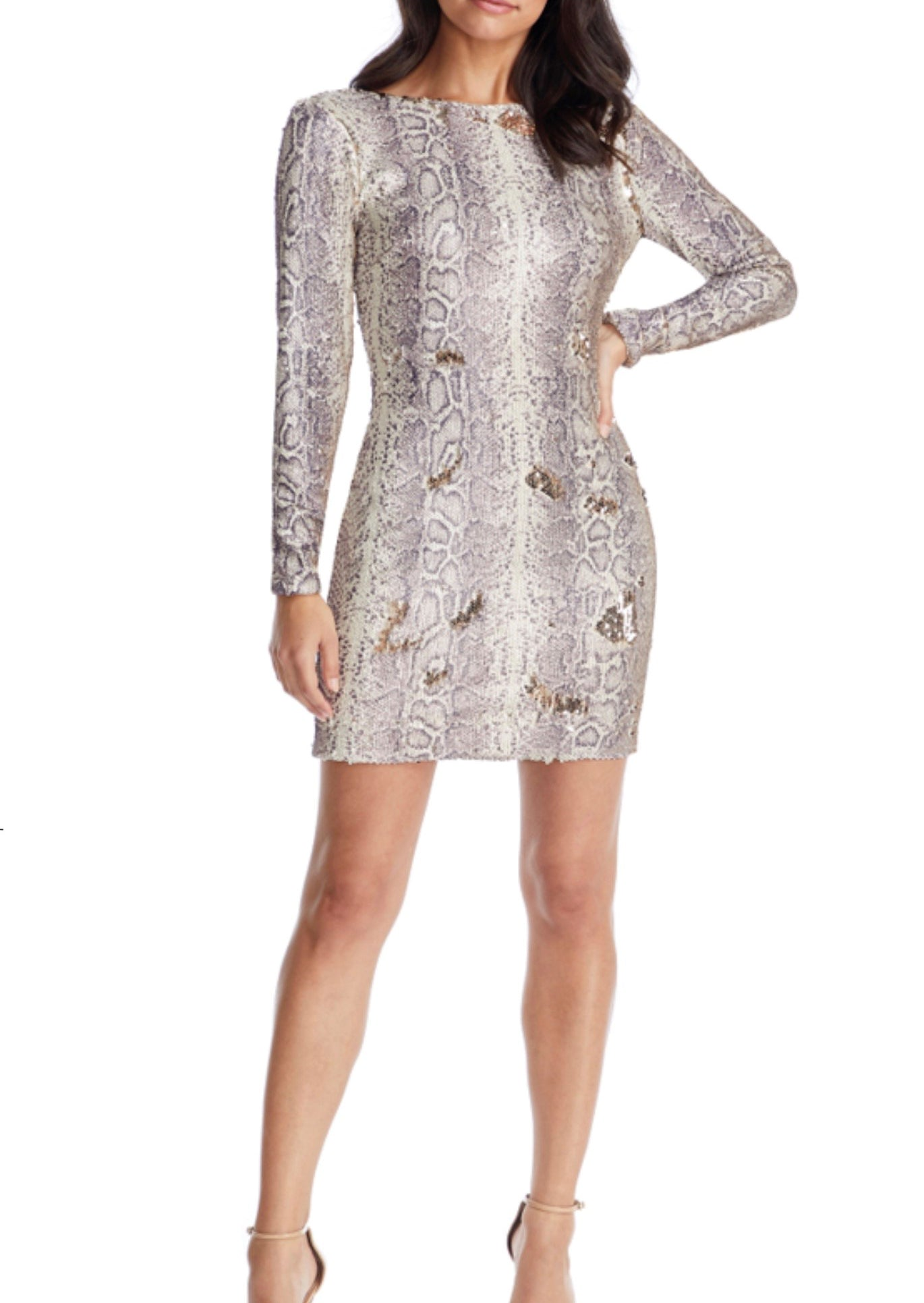 Lola Sequined Mini Dress