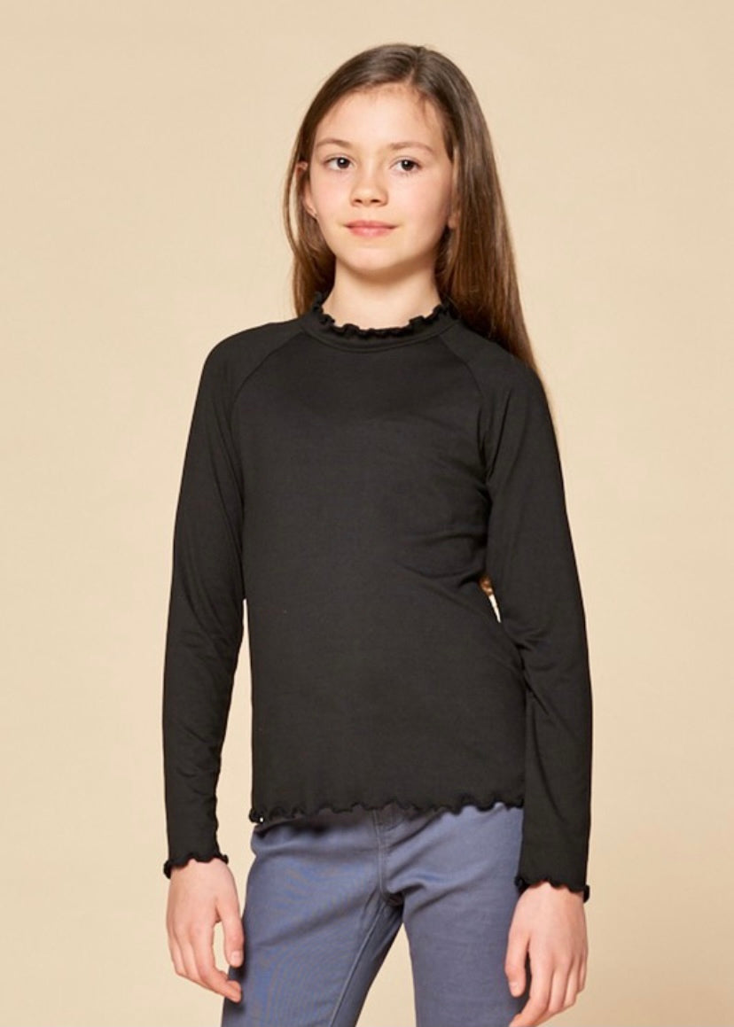 Little's Long Sleeve Mock Neck