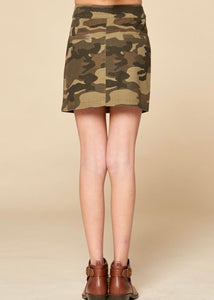 Little's CAMO Skirt